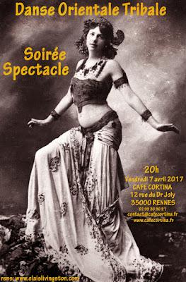 Danse, oriental, tribale, ATS, tribal fusion, orientale, spectacle, soirée, tour d'auvergne, Elaïs, Livingston,