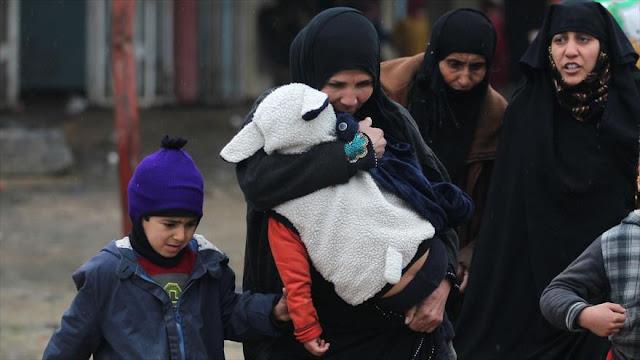 Daesh mató a decenas de civiles que huían del oeste de Mosul