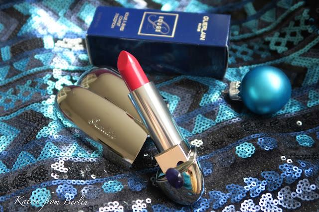 Guerlain Rouge G Lipstick christmas 2016 2017
