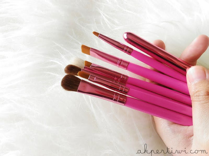 Review Brush Set Zoya Cosmetics