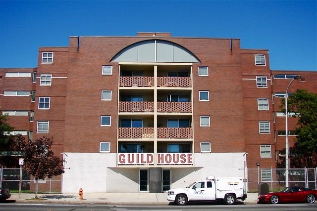 The Guild House in Venturi's home town