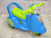 Ride-on Car Pliko PK229 EZ Play Motorcycle Keeping