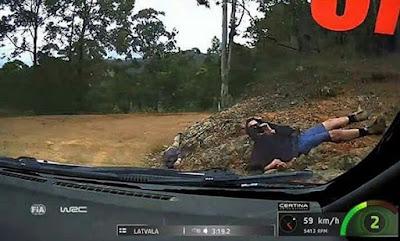 WRC fans in Australia