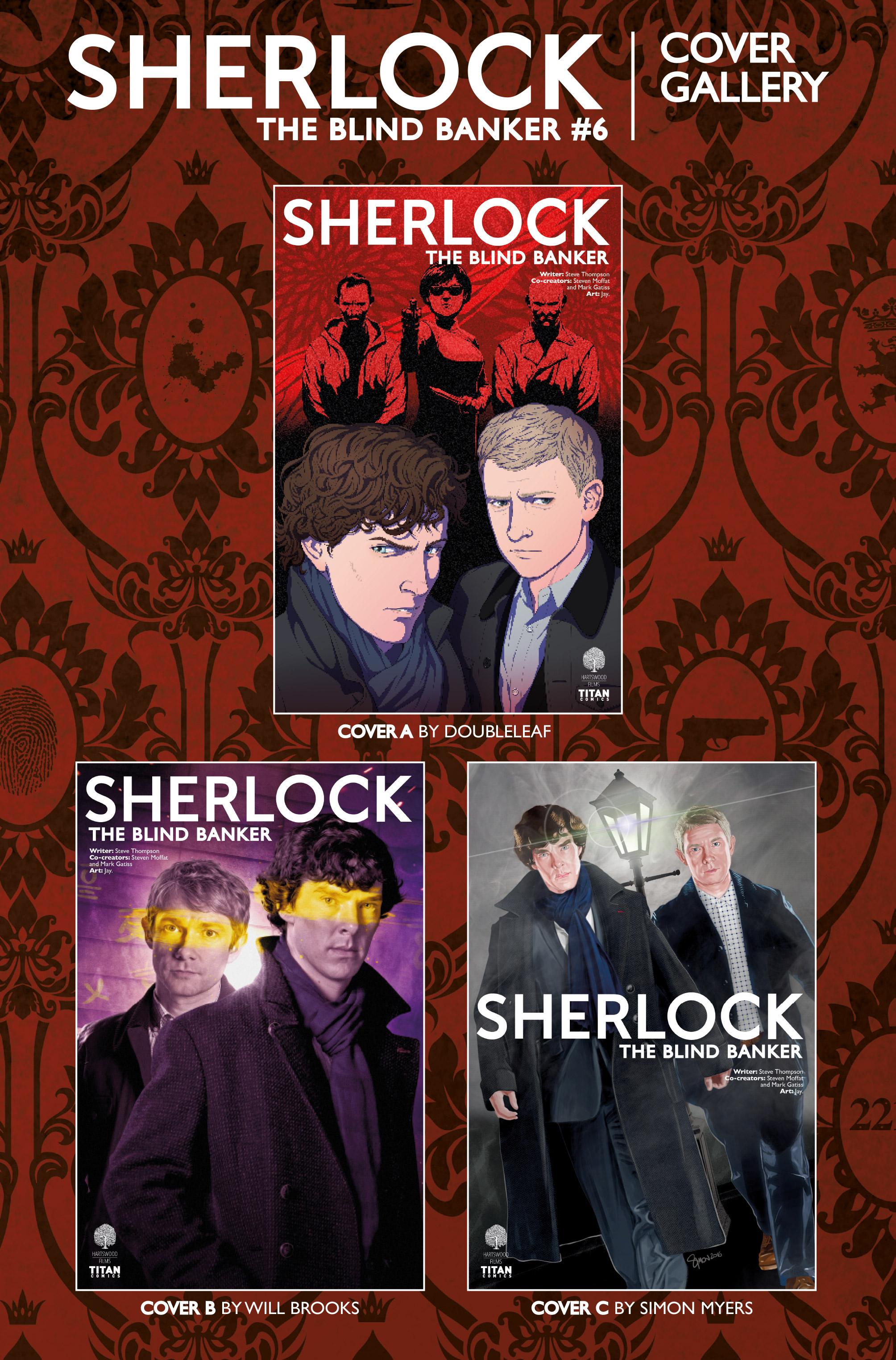 Read online Sherlock: The Blind Banker comic -  Issue #6 - 26