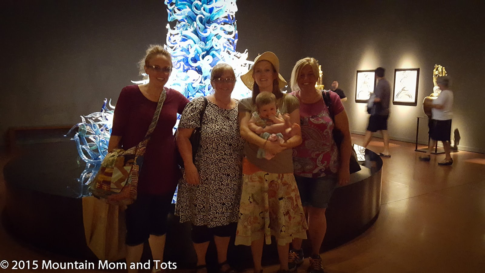 Chihuly Garden and Glass, Seattle, WA - Mountain Mom and Tots