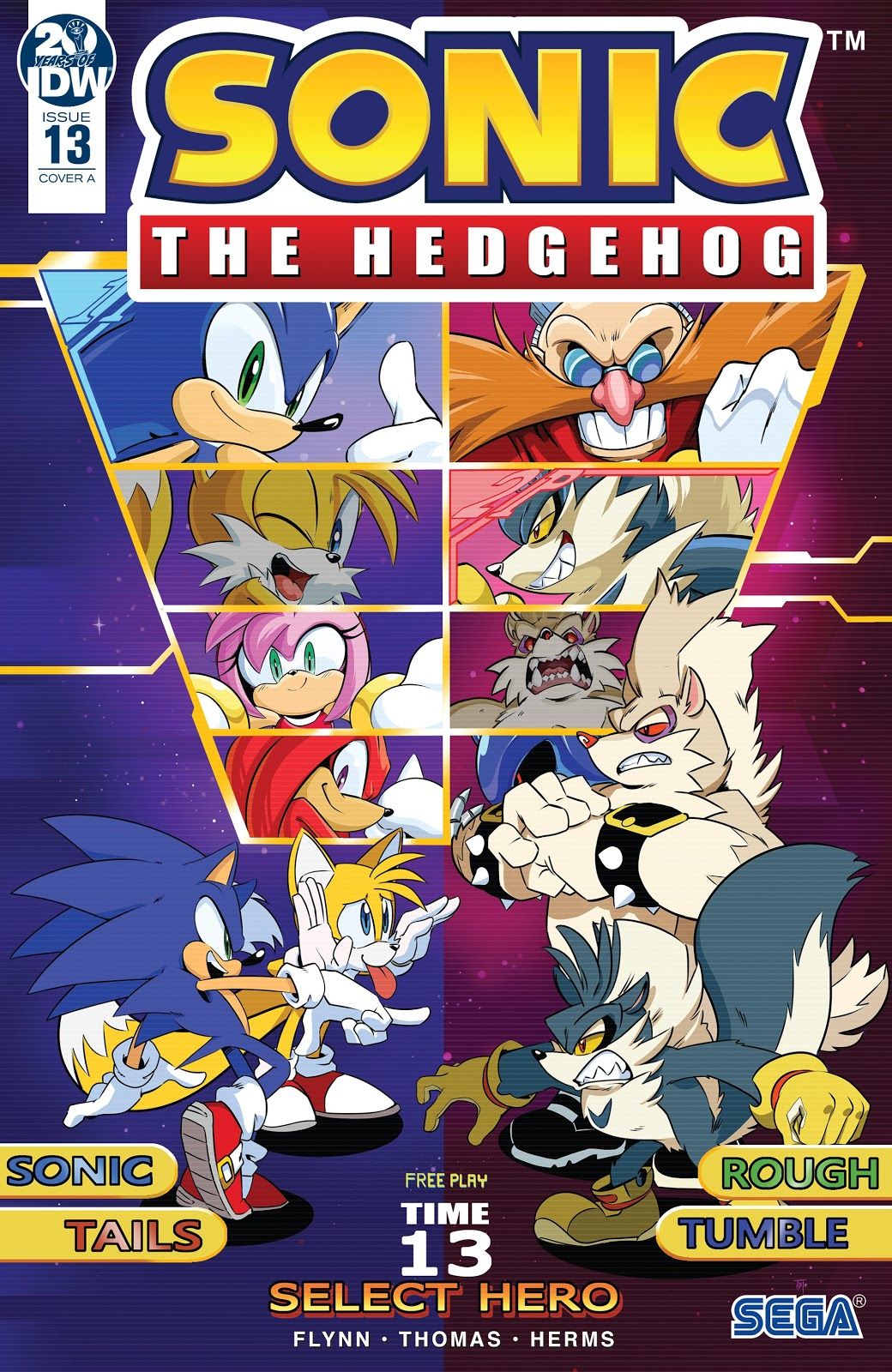 Hedgehogs Can T Swim Sonic The Hedgehog Idw Issue 13