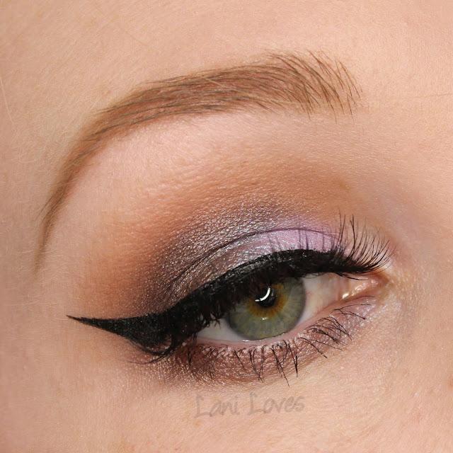 Kiss My Sass Eyeshadow - Aurora, Fascination Swatches & Review