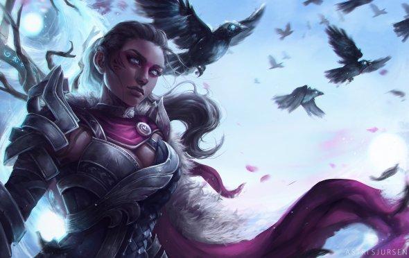 Astri Lohne arte deviantart artstation ilustrações fantasia games warcraft blizzard