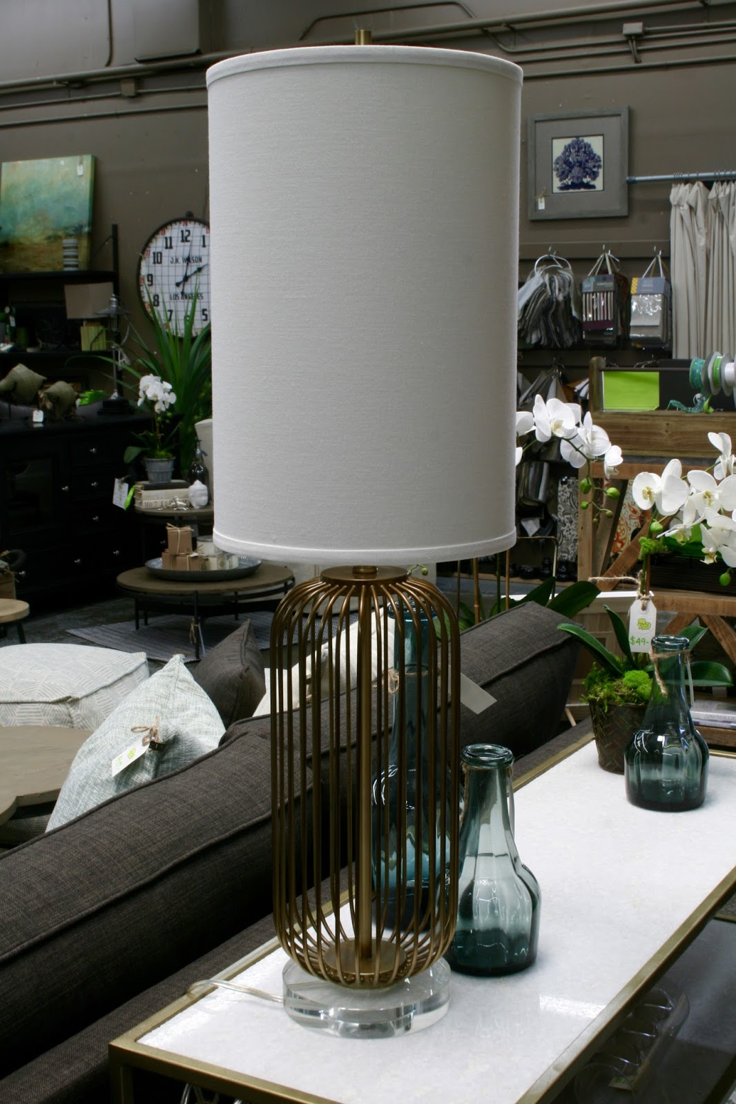 Chartreuse Home Furnishings Let Your Light Shine