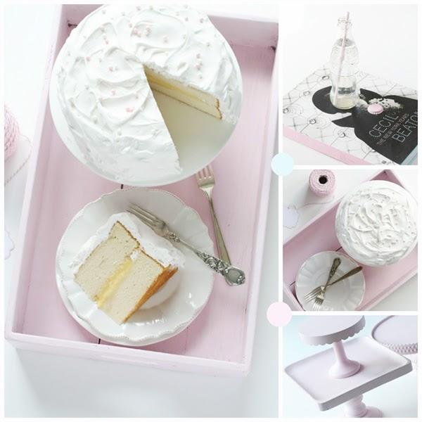 Lemon Chiffon Cake - Retro Pastel Kitchen Colors That'll Make You Squeal!