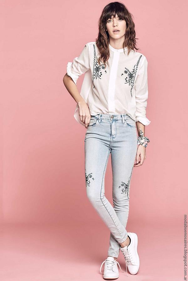 Moda mujer verano 2017 ropa de moda mujer 2017.