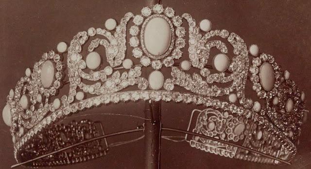 France Duchess Angouleme Turquoise Tiara Bapst