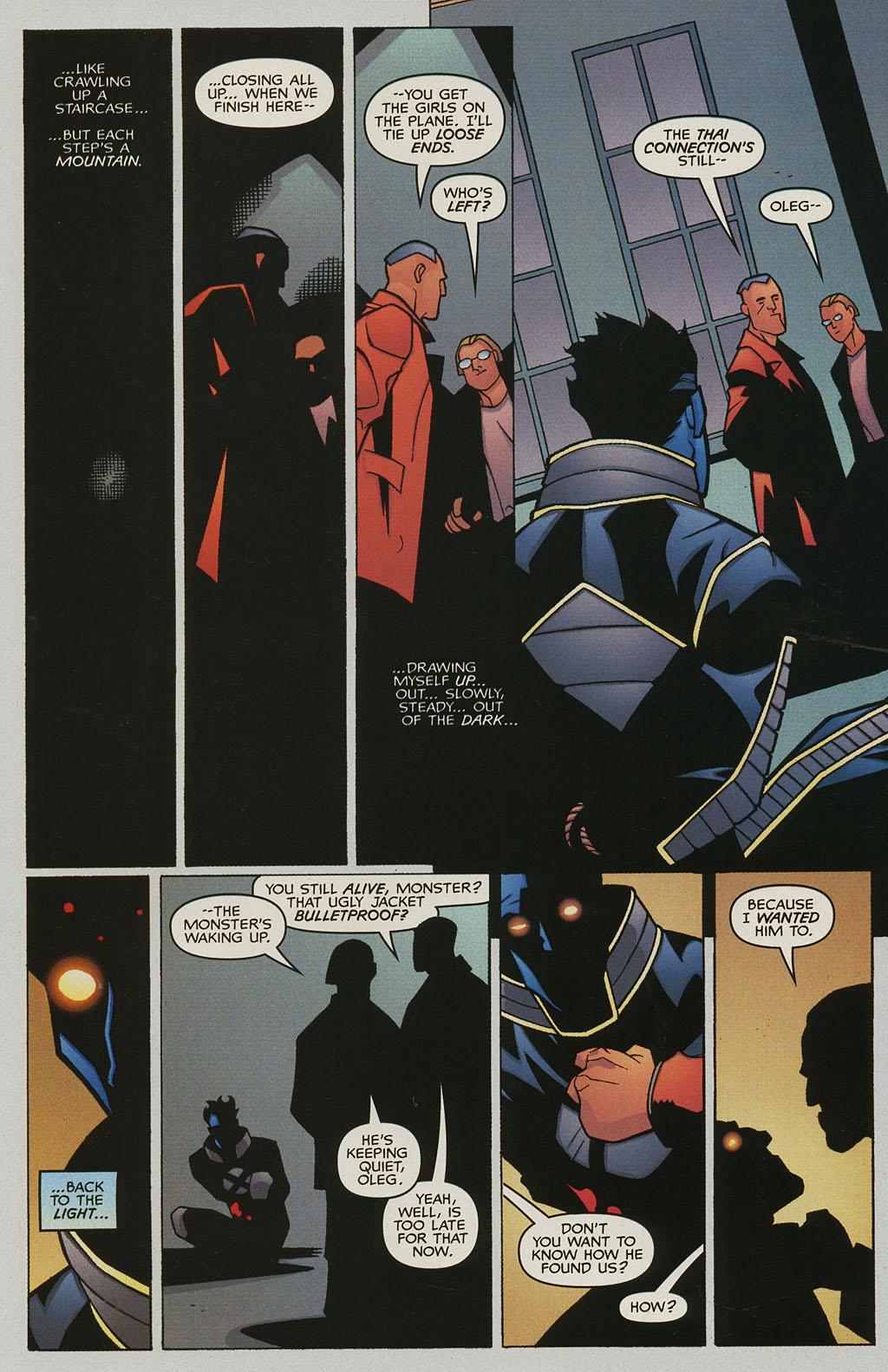 Read online Nightcrawler (2002) comic -  Issue #3 - 22