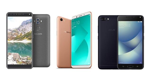 Cherry Mobile Flare S6 Plus vs OPPO A83 vs ASUS Zenfone 4 Max
