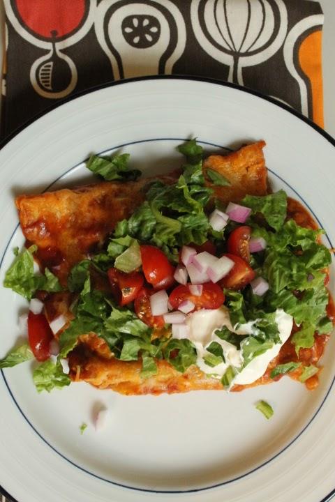 Life On Food Pioneer Womans Chicken Enchiladas