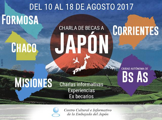 Segunda Jornada de charlas de becas a Japón, organizada por la Embajada
