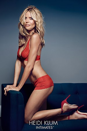 Heidi Klum to advertise their own brand of underwear