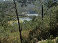 Meandro Melero, marcha al Meandro Melero, pista forestal, Cáceres, Salamanca, Río Alagón