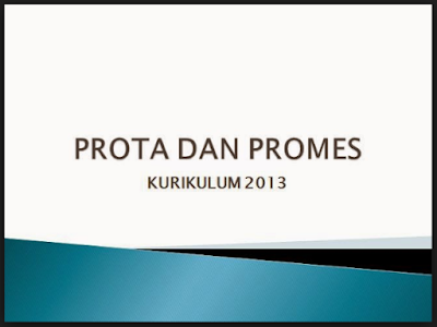 Prota dan Promes Kurikulum 2013 Kelas 5 SD/MI Revisi 2017