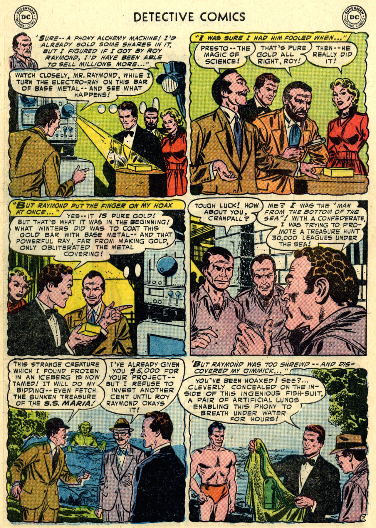 Read online Detective Comics (1937) comic -  Issue #216 - 28