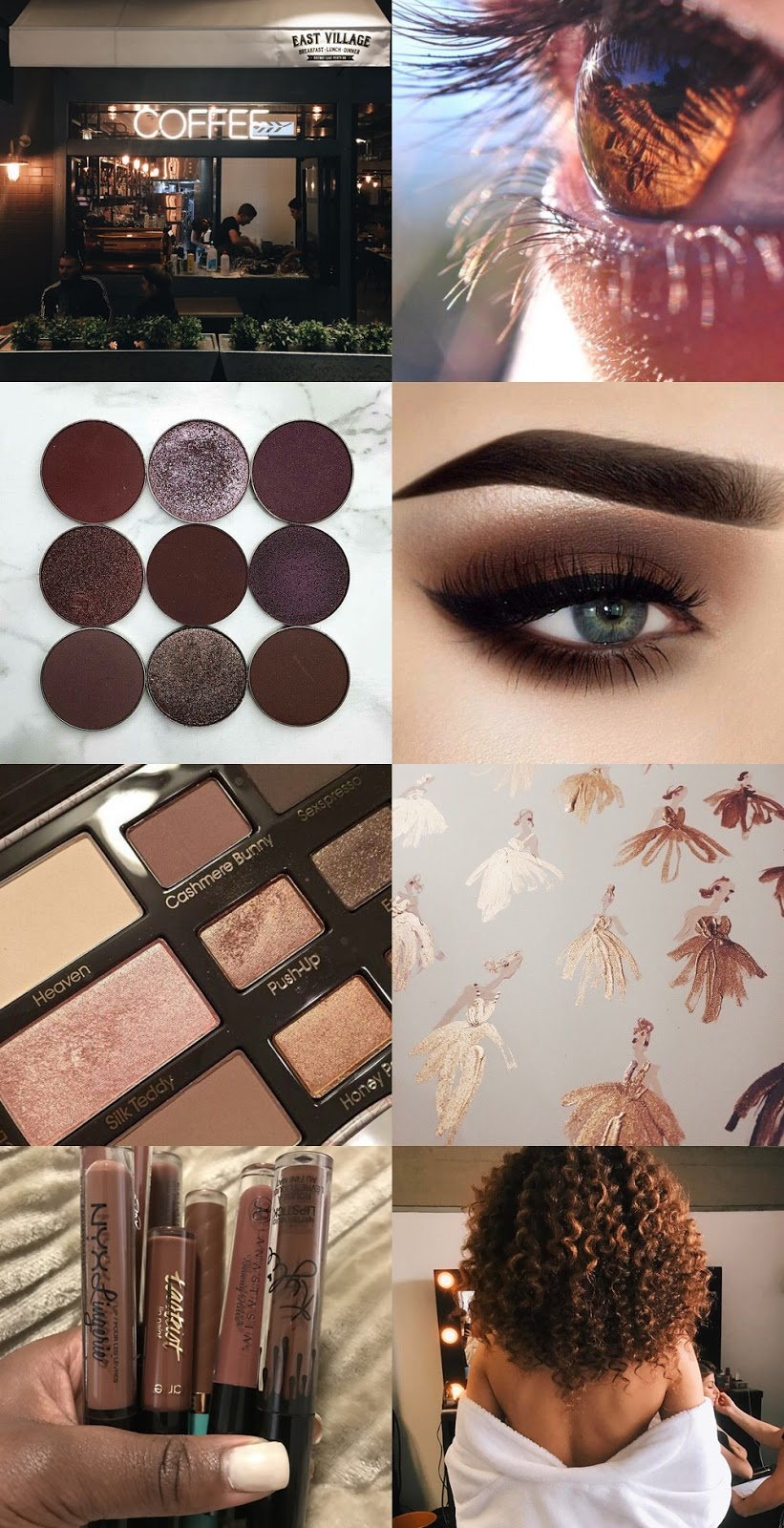 Tumblr inspirations || brown