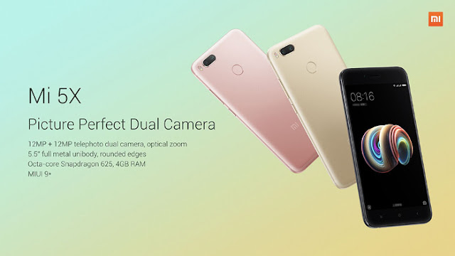 Xiaomi Mi 5X Features and Specs