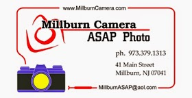 MIllburn Camera Business Card