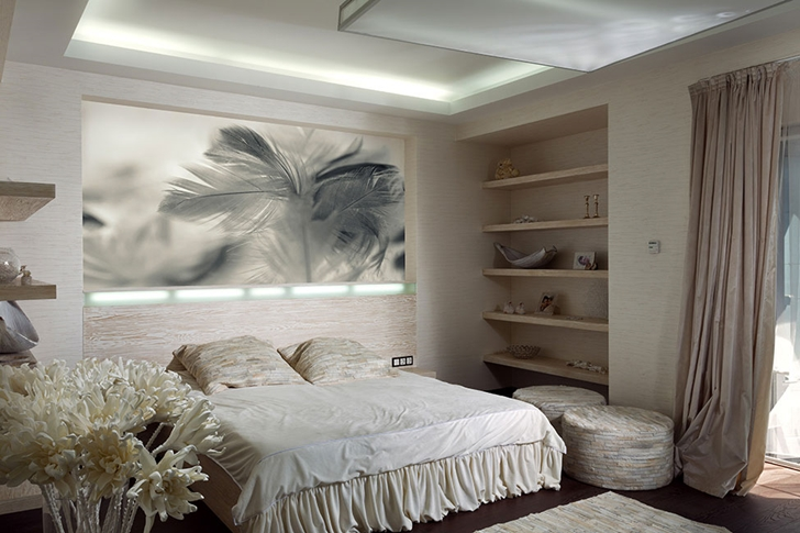 Amazing luxury bedroom in Modern house by Yakusha Design