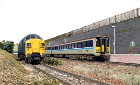 Rhiw model railway