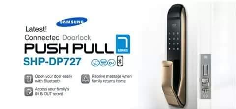 SAMSUNG SMART DOORLOCK: Samsung Smart Doorlock SHP-DP727