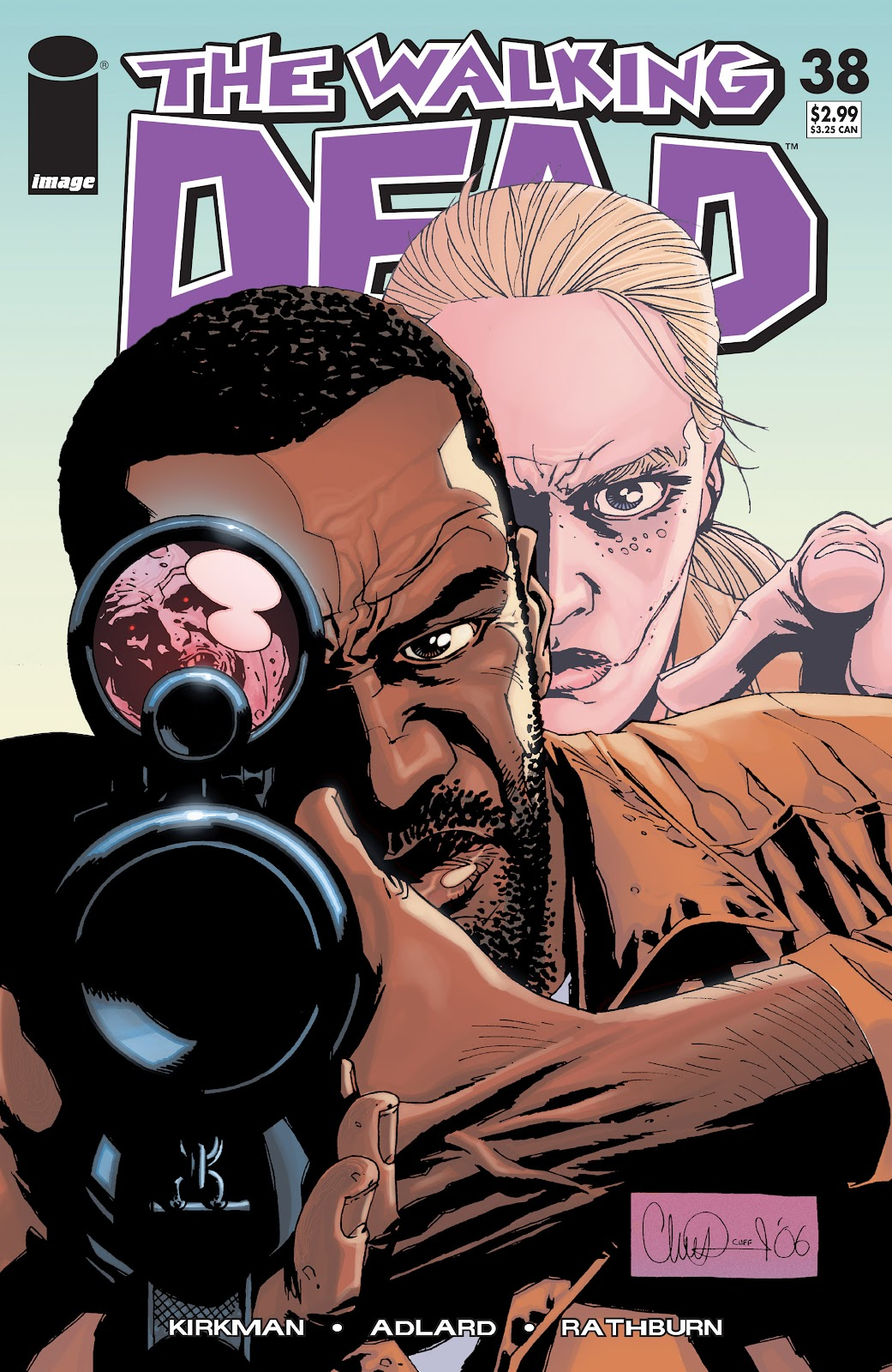 The Walking Dead issue 38 - Page 1