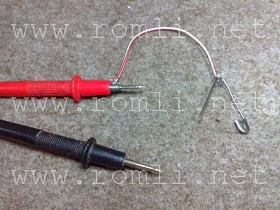 Cara mengetahui letak kabel yang putus menggunakan peniti