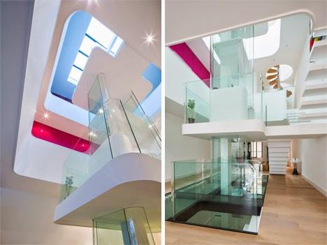 desain interior putih rumah minimalis yang feminin dan
