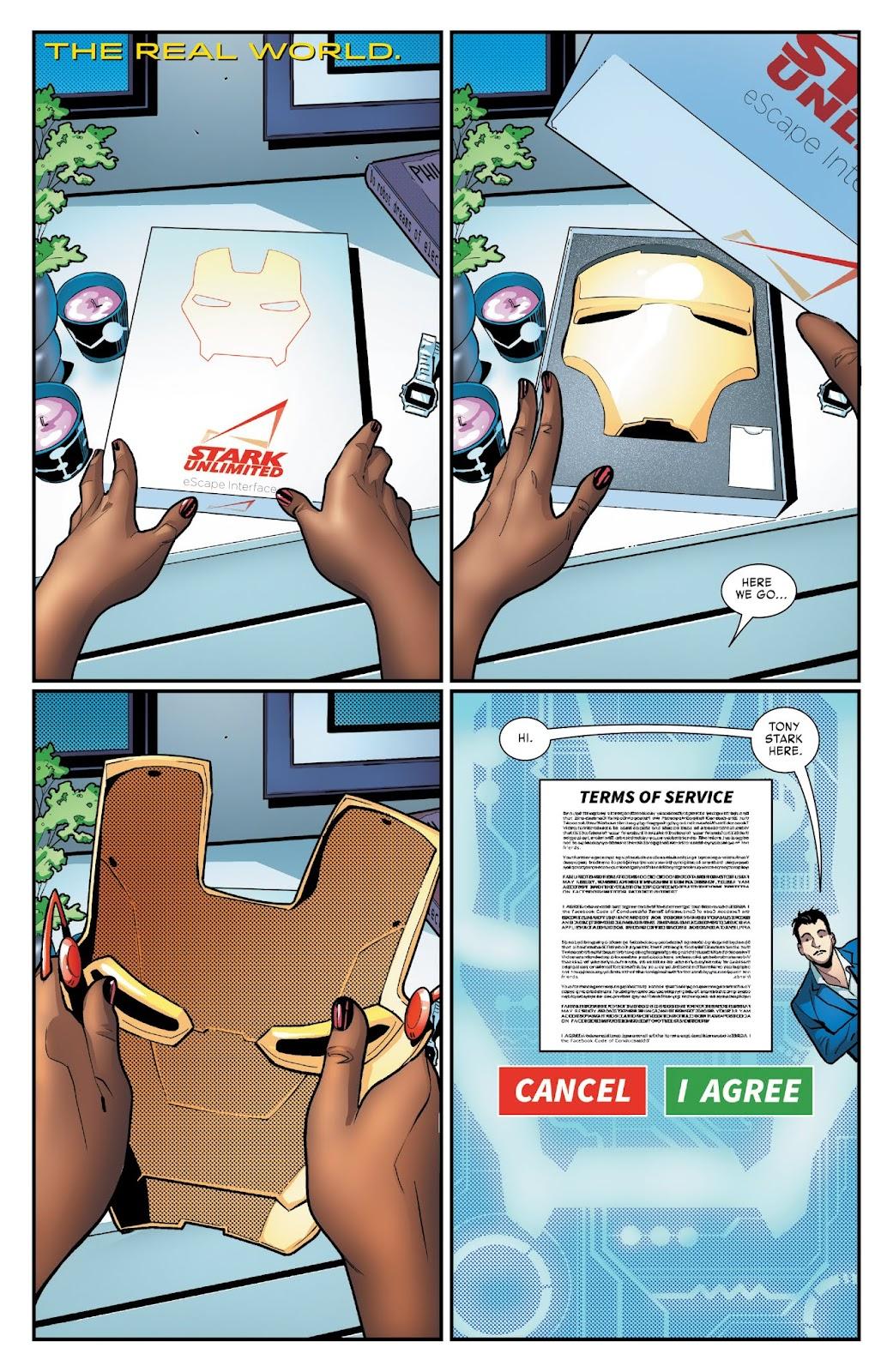 Read online Tony Stark: Iron Man comic -  Issue #3 - 2