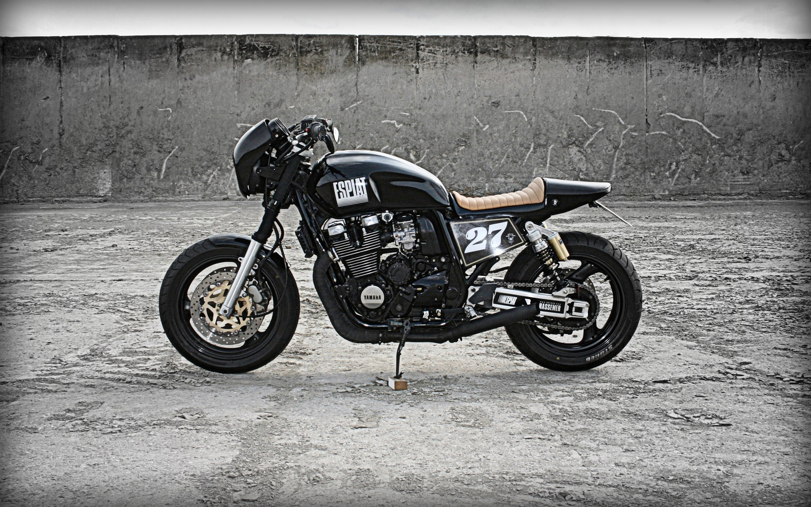 yamaha xjr 1200 by rocketgarage cafe racer magazine. Black Bedroom Furniture Sets. Home Design Ideas