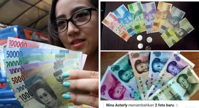 Banyak Netizen Sebut Ada Kemiripan Rupiah Baru dengan Yuan China, Ini Buktinya