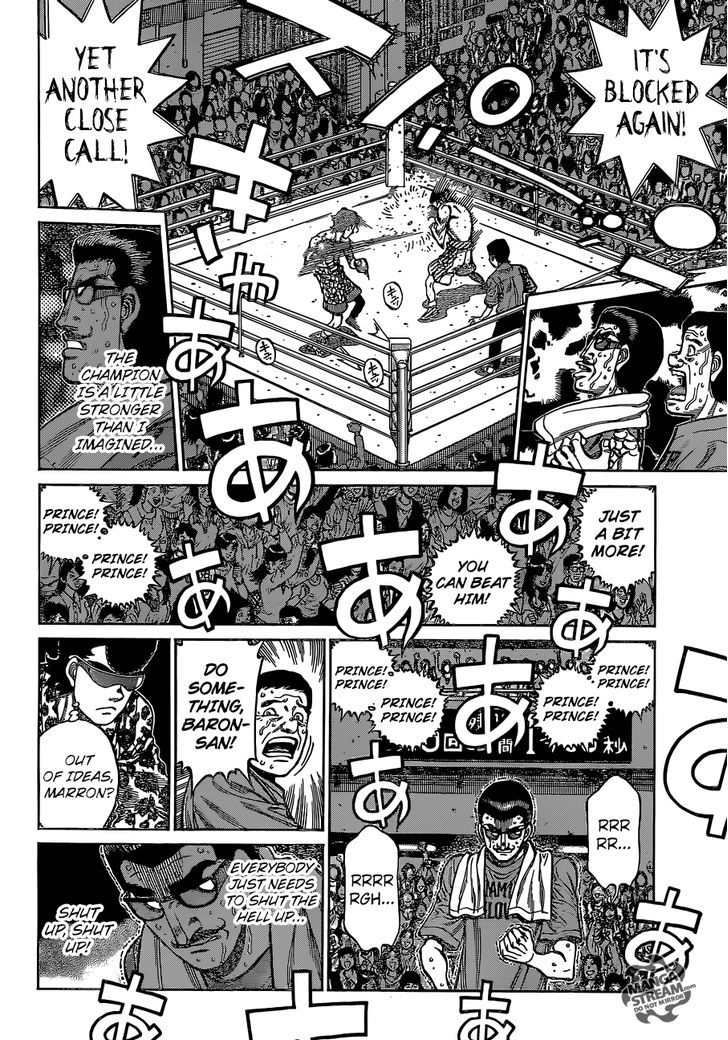 Hajime no Ippo - Chapter 1142
