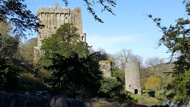 Blarney Castle from near the Waterfalls