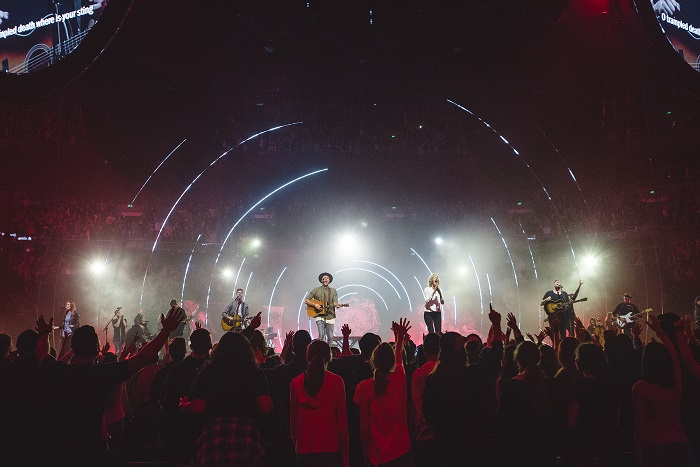 Hillsong Worship live performance 2016