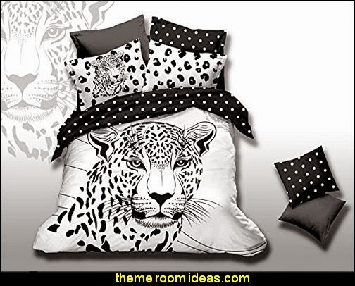 White Tiger White Bedding Animal Print Bedding 3d Bedding Teen Bedding Animal Duvet Cover Set Gift Idea