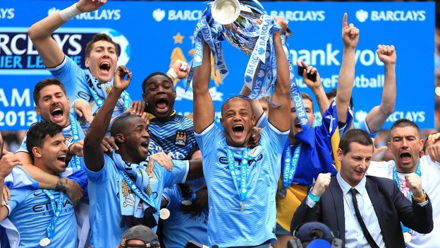 Man City win Premier League as Man Utd lose to West Brom