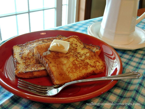 French Toast with Freezing Tips