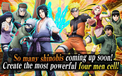 NARUTO X BORUTO NINJA VOLTAGE MOD APK + Data v1.0.4 for Android Original Version Terbaru 2017