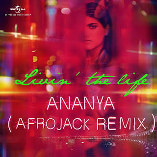 "Ananya Birla: World Renowned Dutch DJ AFROJACK Remixes Ananya Birla's ""Livin' The Life"""