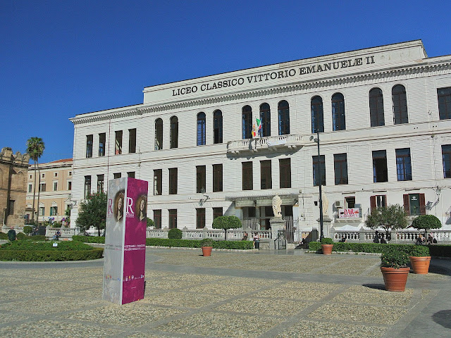 szkoła, liceum, Palermo, Sycylia