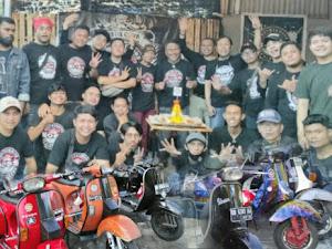 Seremonial HUT ke-4 Club Vespa BOSS Sulut