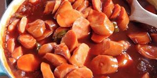 Resep Membuat Sosis Saus Merah Rasa Nikmat