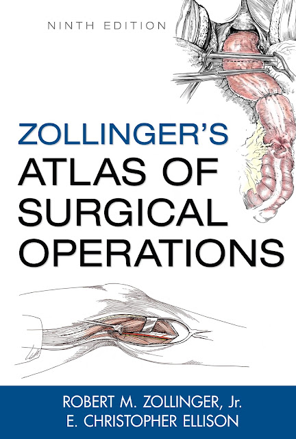Zollinger's Atlas of Surgical Operations, 9 Edition