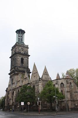 Que ver en hannover ruinas de Aegidienkirche