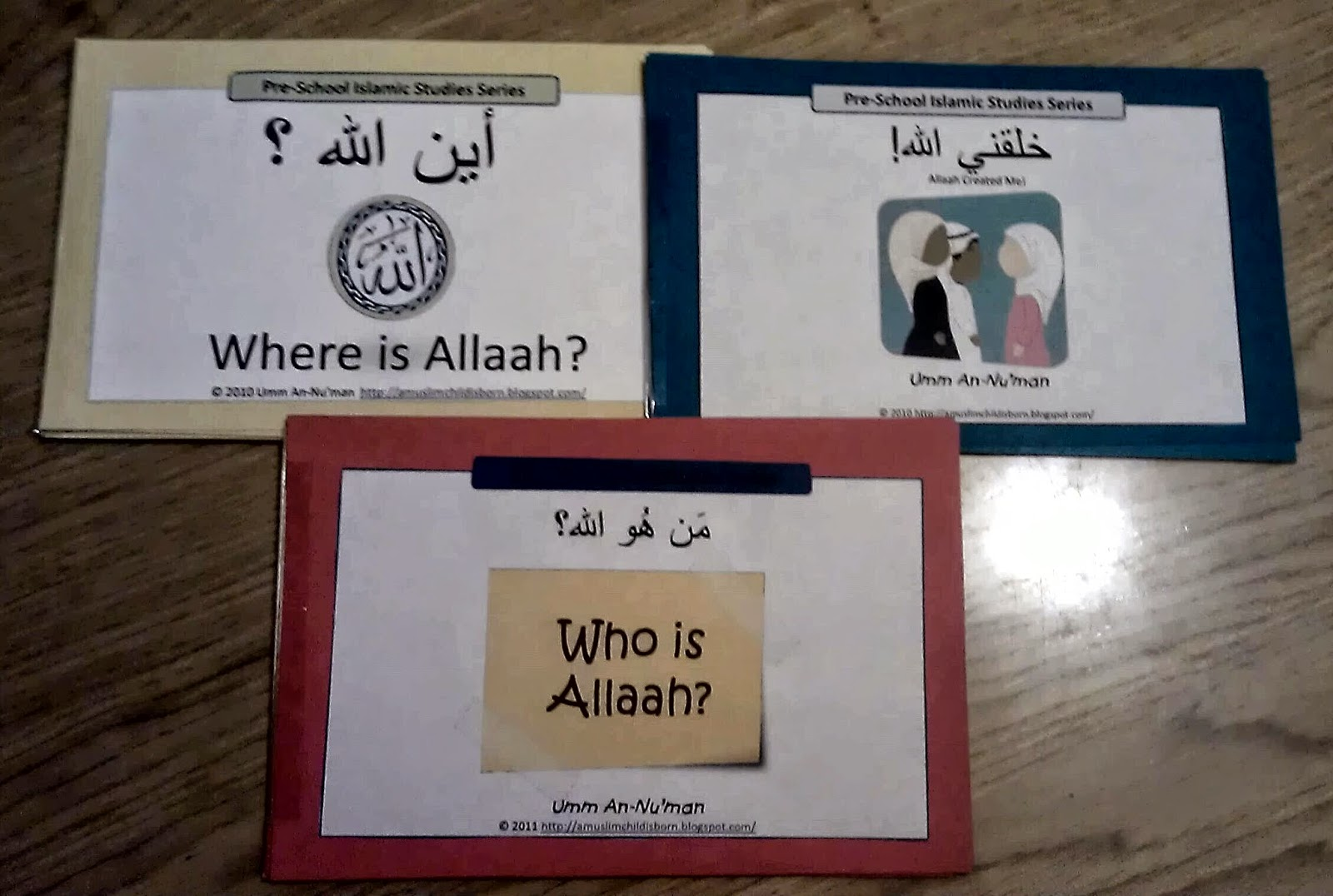 Iman S Home School Aqeedah Mini Workbooks